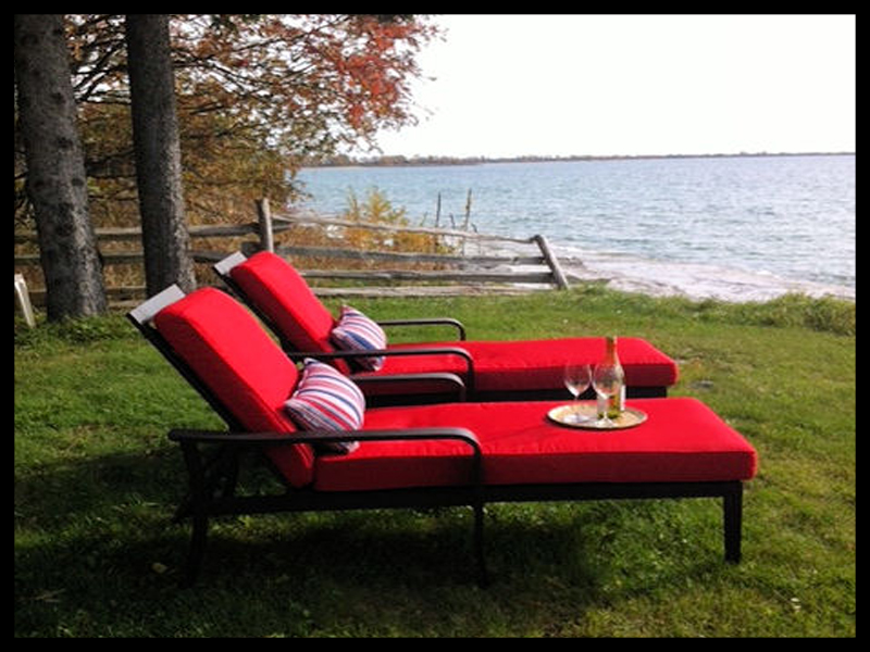 Loungers by Waterfront